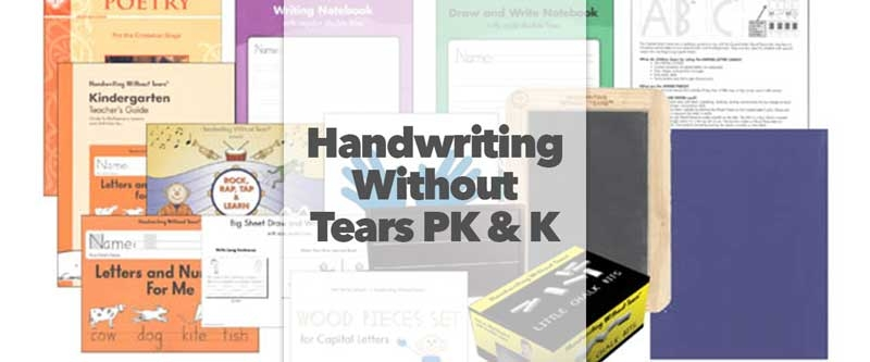 Handwriting Without Tears Review Pre-K and K